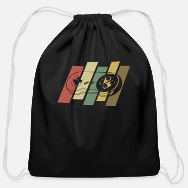 Video Vintage Retro Gaming Classic Gamer Gift Video - Cotton Drawstring Bag