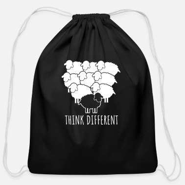 Think Different Think differently - Cotton Drawstring Bag