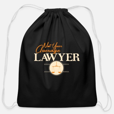 Average Average Lawyer Average Lawyer Shirt - Cotton Drawstring Bag