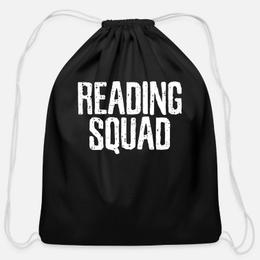 Read Reading Reading Reading - Cotton Drawstring Bag