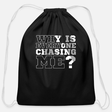 Race CROSS COUNTRY RUNNING - Cotton Drawstring Bag
