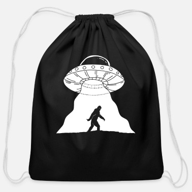 Kidnapping Extraterrestrial kidnapping - Cotton Drawstring Bag