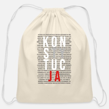 Polish Words Konstytucja Constitution | Polish, Poland, Polska - Cotton Drawstring Bag
