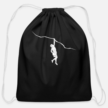 Climb Climbing Climb - Cotton Drawstring Bag