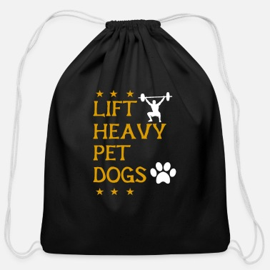 Pet Lift Heavy Pet Dogs - Cotton Drawstring Bag