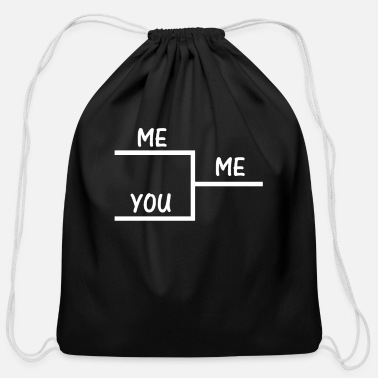 Offensive I Win You Lose Funny Offensive College Humor Winni - Cotton Drawstring Bag