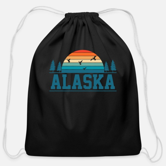 Alaska Bags & Backpacks - Alaska Alaska - Cotton Drawstring Bag black