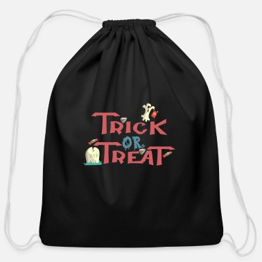 Trick Or Treat Trick-or-Treat - Cotton Drawstring Bag