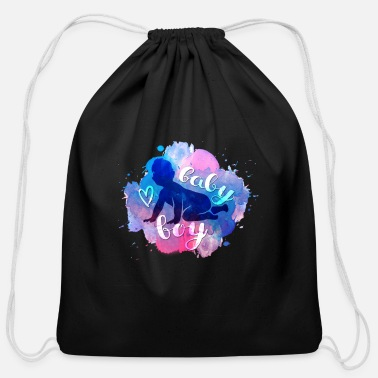 Baby Boy Baby boy - Cotton Drawstring Bag