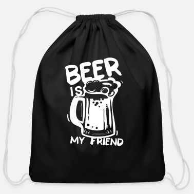 Beer Garden beer garden - Cotton Drawstring Bag
