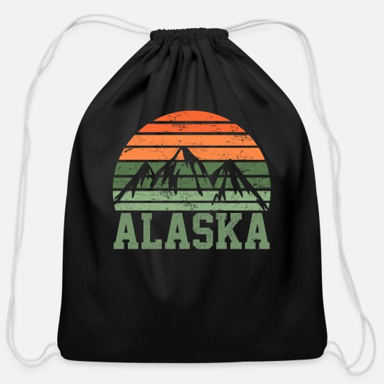 Alaska Bags & Backpacks - Alaska - Cotton Drawstring Bag black