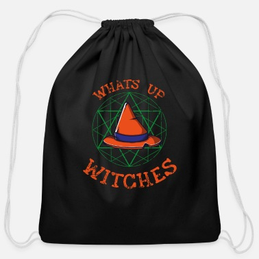Witch Witch Witch Costume Witch Hat - Cotton Drawstring Bag