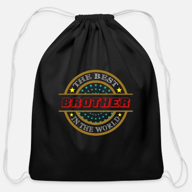 Best Brother Best Brother - Cotton Drawstring Bag