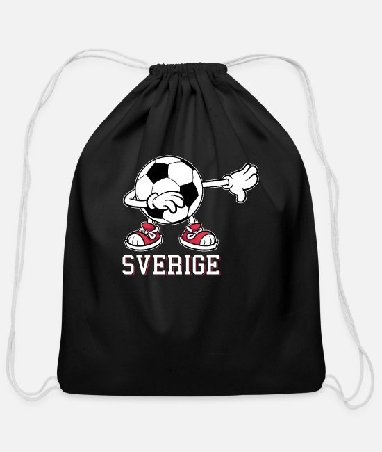 EU Bags & Backpacks - Sweden - Cotton Drawstring Bag black