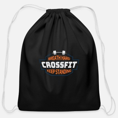 Crossfit Crossfit Fitness Sport Motivation Gym - Cotton Drawstring Bag