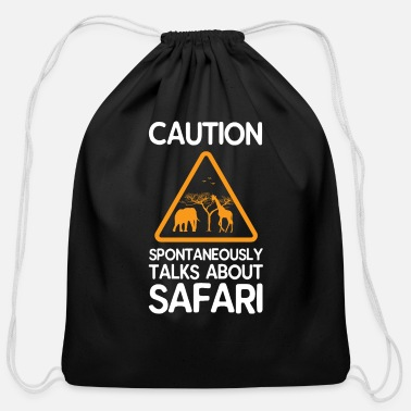 Safari Safari - Cotton Drawstring Bag