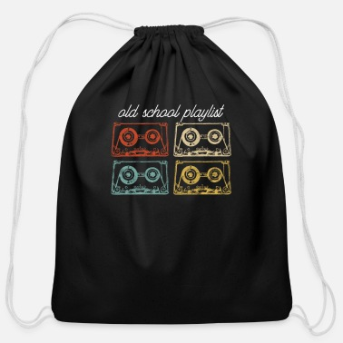 Tape Vintage Retro Music Cassette Tapes Mixtape T-Shirt - Cotton Drawstring Bag