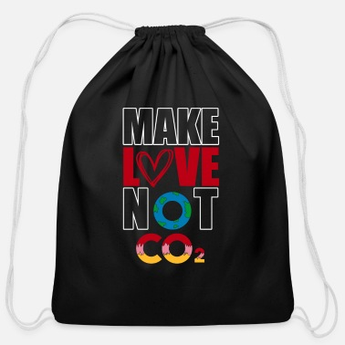 Global Climate Change Environment - Cotton Drawstring Bag