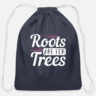 Ink Hair Stylist Barber - Cotton Drawstring Bag