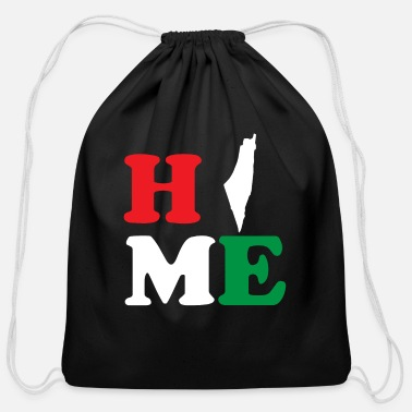 Region Home | Palestine Native - Cotton Drawstring Bag