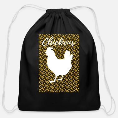 Rescue Kylling Chicken T-Shirt - Cotton Drawstring Bag