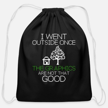 Sharp Programmer Funny Gift Idea - Cotton Drawstring Bag
