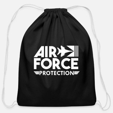 Numbered Air Force Air Force Protection - Air Force - Cotton Drawstring Bag