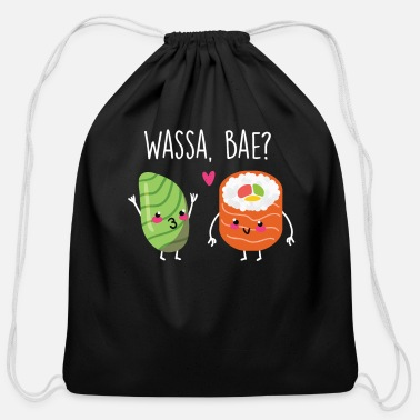 Maki Sushi Wasabi gift - Cotton Drawstring Bag