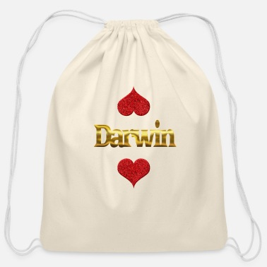 Darwin Darwin - Cotton Drawstring Bag