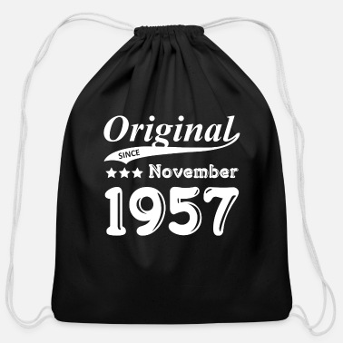 1957 Original Since November 1957 Gift - Cotton Drawstring Bag