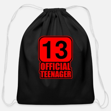 Official Person Official Teenager - Cotton Drawstring Bag