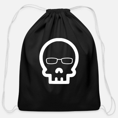 Bone bone - Cotton Drawstring Bag