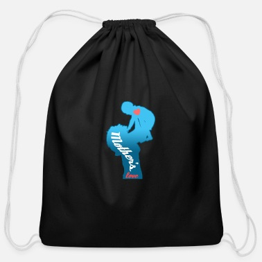 Birth Name Birth Motherslove - Cotton Drawstring Bag