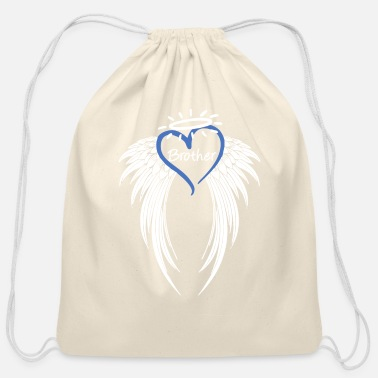 Angel Angel Brother T Shirt - Cotton Drawstring Bag