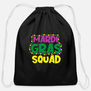 King Mardi Gras NOLA Fat Tuesday Parade - Cotton Drawstring Bag