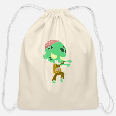 Decoration Halloween costumes children with motif - Cotton Drawstring Bag