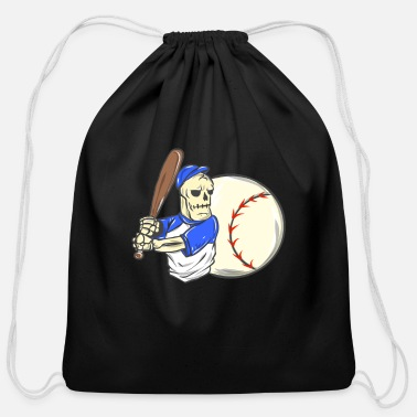Children Baseball Brennball Softball Kickball Ballsport USA - Cotton Drawstring Bag