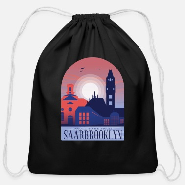 Saarbrücken Saarbrucken City - Cotton Drawstring Bag