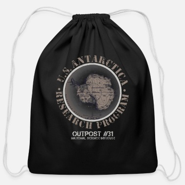 Antarctica antarctica - Cotton Drawstring Bag