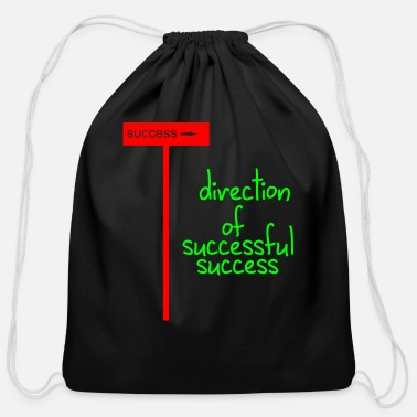 Success direction of successful success - Cotton Drawstring Bag