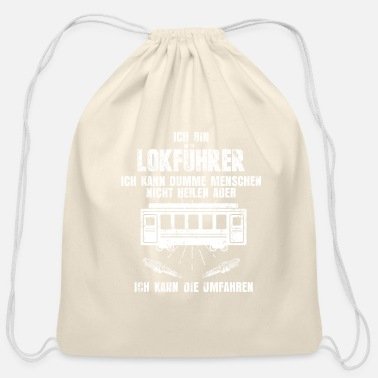 Training Train Train - Cotton Drawstring Bag