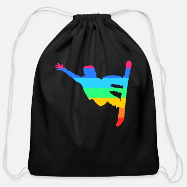 Boarders boarder - Cotton Drawstring Bag