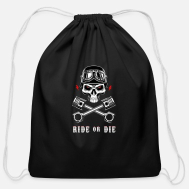 Fastandfurious ride or die - Cotton Drawstring Bag