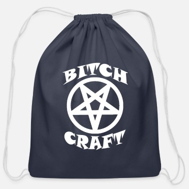 Witch Bitch Craft - Cotton Drawstring Bag