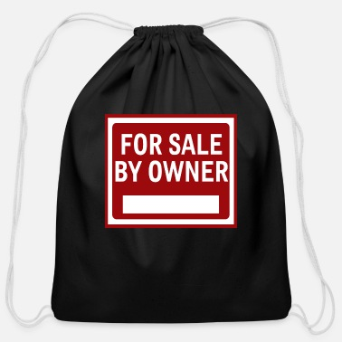 Owner For Sale by Owner - Cotton Drawstring Bag