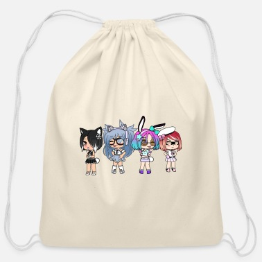 Group Gacha Group! - Cotton Drawstring Bag