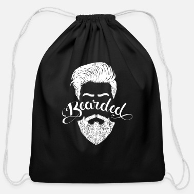 Beard Bearded - Cotton Drawstring Bag