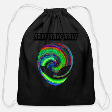 Rave rave rave rave - Cotton Drawstring Bag