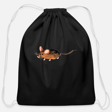 Rodent Rodent - Cotton Drawstring Bag