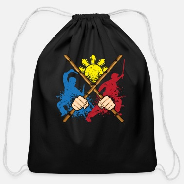 Arnis Eskrima Arni Kali Martial Art Gift print - Cotton Drawstring Bag